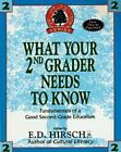 WHAT YOUR SECOND GRADER NEEDS TO KNOW T