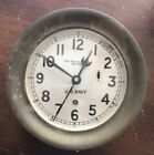 Antique US Navy Chelsea Clock Brass Works