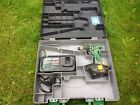 HITACHI WH 14 DMR CORDLESS DRILL/ IMPACT DRIVER With Charger
