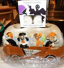 2016 Boney Bunch Boos Bus Votive Holder & 12 GHOSTLY TREATS  Factory Packaging