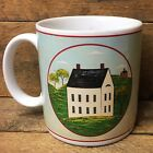 Warren Kimble Brandon House Mug - White Colonial House Sakura