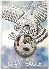 New Zealand 2009 Eagle Dollar Silver CoinProofWith Mint Pack