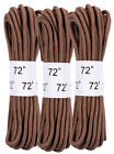 Coyote Brown Military 72 Boot Laces 3 Pack rothco 6017