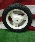 1981 - 1983  HONDA EXPRESS SR NX50 SCOOTER ORIGINAL REAR TIRE +WHEEL RIM OEM