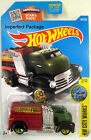 ToKaLand Hot Wheels 2016 167/250 City Works Green Fast Gasser Truck Imperfect