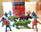 MASTERS OF THE UNIVERSE TOY ACTION FIGURE LOT HE MAN SKELETOR BATTLE CAT PANTHER
