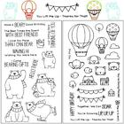 Adorable Pet Series Transparent Rubber Stamp Seal DIY Album Craft Scrapbooking