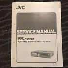 Original Service Manual for JVC Cassette Tape Decks  ~ Select One