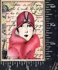 Hero Arts Wood Mounted Rubber Stamp Gracious Lady NEW
