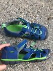 KEEN blue green youth boy 5 euro 37 shoe sandal WORN1WEEK clean EUC