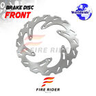FRW 1x Front MX Brake Disc Rotor For KTM LC4 600 ENDURO 91-92 91 92