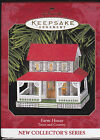 1999 Hallmark Farm House Town and Country Series Ornament Dated NIB NEW IN BOX