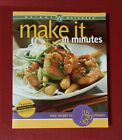 Weight Watchers Cookbook MAKE IT IN MINUTES Easy Recipes Winning Points pb