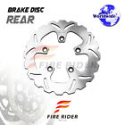 FRW 1x Rear Brake Disc Rotor For SUZUKI GSX 1300 R HAYABUSA 99-07 00 01 02 03 04
