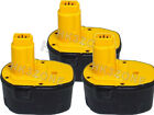 3x 3Ah battery for 14.40V DEWALT DW928K,DW931K,DW935K,DW966K 3AMP Hammer Drill