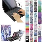 For LG Gpad G Pad X 8.3 X8.3 USB Andriod Tablet Keyboard Case Cover Flip Stand