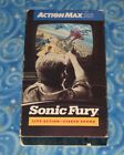 Action Max Sonic Fury Game Video VHS Tape with Slip Cover Excellent Tested