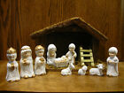 PORCELAIN BLESSED CHILD NATIVITY NTV 110 11 piece set Stable 75 x 115