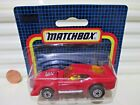 Matchbox Rare German Issue 1983 MB11E 67E Red IMSA MUSTANG Nu in C9 BubblePk