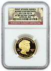 2015 W 10 Proof Gold First Spouse Mamie Eisenhower NGC PF69 UC SKU37821