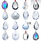 Crystal Glass Large Prisms Chandelier Parts Suncatcher Rainbow Maker Ornament