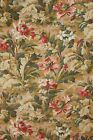 Printed French cotton cretonne c1890 fabric material floral design 19th century