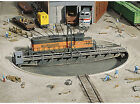 Walthers Cornerstone HO Scale Building Structure Kit 90 Foot Train Turntable