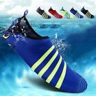 Men Women Soft Skin Water Shoes Sport Socks Pool Beach Swim Slip On Surf Yoga US