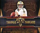 2014 TOPPS TRIPLE THREADS FOOTBALL HOBBY SEALED 9 BOX CASE