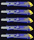5 x IRWIN Screw Lock Snap Off Utility Knife Handle 9mm NO BLADE BULK PACK