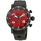 Chronoswiss Timemaster Red Dial Mens Chronograph Watch CH-9045-RE