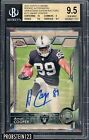 2015 Topps Chrome Superfractor Amari Cooper RC Rookie AUTO 1 1 BGS 9.5 w 10