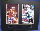 100% AUTHENTIC DOLPHINS CHAD HENNE & DAVONE BESS SIGNED 8x10 MATTED 4x6 PHOTOS