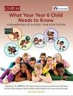 NEW What Your Year 6 Child Needs To Know Fundamentals Of A BOOK Paperback