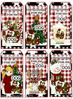 SET OF 12 CHRISTMAS FROM THE DOG 83 SCRAPBOOK EMBELLISHMENTS HANG GIFT TAGS