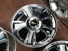 2007 2013 CHEVY AVALANCHE SILVERADO 1500 20 FACTORY OEM CHROME WHEEL RIM 5416