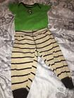 Carters Baby Boy 2 Piece Outfit Size 12 Months Monkey Preowned