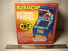 1989 remco Toys RoboCop Electronic Pinball Machine game with tilt action Mint!
