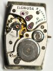 ELGIN WRIST WATCH MOVEMENT 21 JEWELS FOR PARTS/REPAIRS #A767