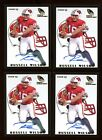 (4) 2012 Retro Rookie Sensations RUSSELL WILSON Autograph #RS-23 Rookie