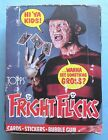 VINTAGE - 1988 - TOPPS - FRIGHT FLICKS - COMPLETE - 36 COUNT WAX BOX
