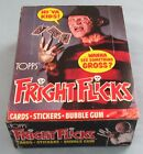 1988 - TOPPS - FRIGHT FLICKS - COMPLETE - 36 COUNT WAX BOX