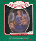 1986 Hallmark Lorenzo Di Cridi Art Masterpiece Series Ornament Dated NIB NEW