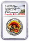 2017 Canada Mother Natures Beauty Under Sun 1 oz Silver NGC PF70 UC ER SKU48353