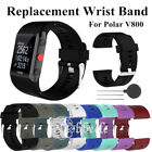 For Polar V800 Sports Fitness Watch w/Tool Silicone Replacement Wrist Strap Band