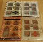JUST NAN MOUSE IN THE HOUSE ALL 4 SEASON SET CROSS STITCH EMBELLISHMENTS PACK