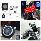 Motorcycle ATV Anti-theft Alarm Security System Remote Engine Start Speedometer