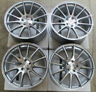 20 GROUND FORCE GF6 WHEELS SET FOR NISSAN ALTIMA COUPE SILVER RIMS SET 20X9