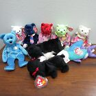 TY BEANIE BABIES Lot Of 10 NEW Propeller,Classy,August,GiGi,April,Pops,June+++++