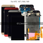 HTC One M7 M8 M9 LCD Display Digitizer Touch Screen Assembly Frame Original New